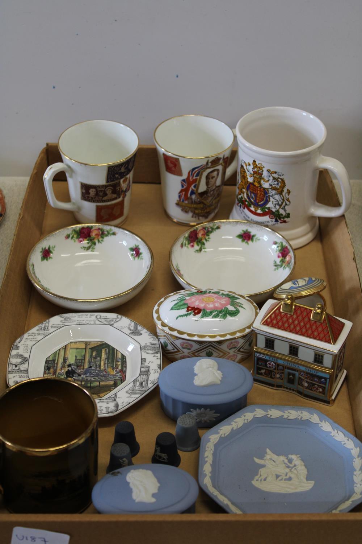 A good job lot of assorted ceramics