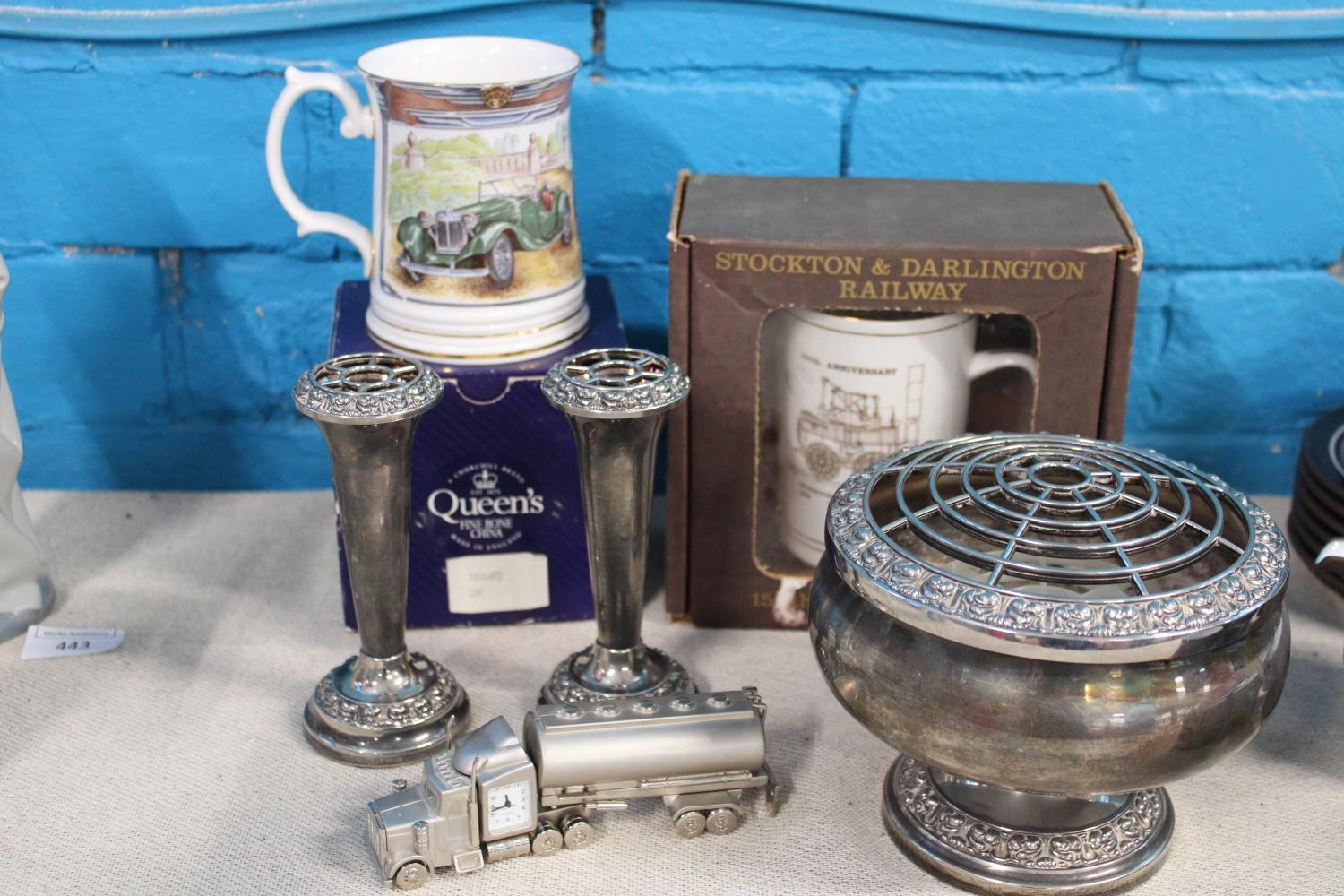 A selection of collectables