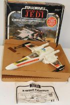 A boxed 1980's Star Wars X-Wing Fighter