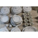 """A large Royal Doulton """"Strawberry Fayre"""" dinner service. (approx 70 pieces) replacement lid to one"""