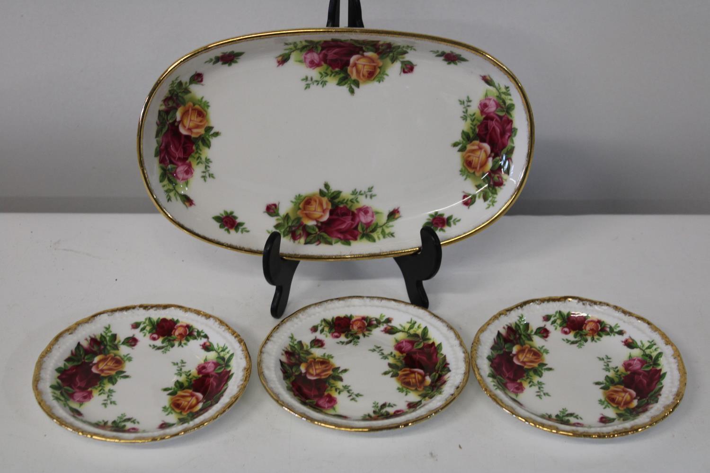 Four Royal Albert OCR pieces