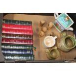 A job lot of assorted collectable ceramics and other, Sadler teapot etc