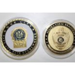 Two American State Trooper medals