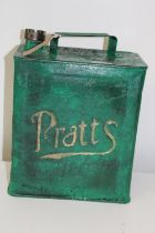 A re-furbished Pratts petrol can