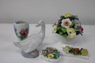 A selection of vintage ceramics
