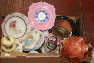 A job lot of assorted ceramics & other etc Collection only