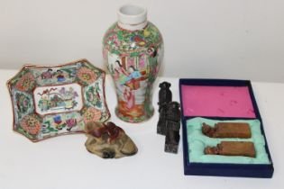 A selection of Oriental collectables