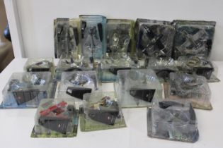 A box of Aircraft models