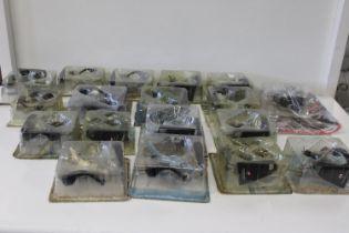 A box full of Aircraft models