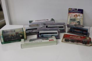 A selection of assorted boxed die-cast models