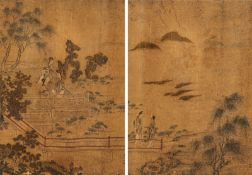 IN THE STYLE OF QIU YING (1494-1552)