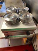 Lincat BS4W Silverlink Electric Countertop Bain Marie