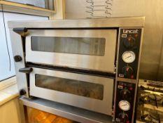 Lincat PO425-2 Countertop Double Pizza Oven