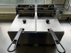 Buffalo L495 Twin Station Deep Fat Fryer
