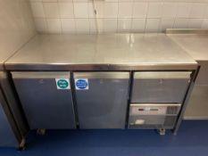 Friulinox Artica Lockhart TR-37 Gold Bench Style Refrigerator