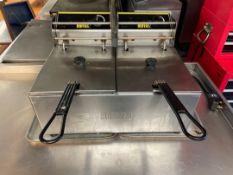 Buffalo L495 Twin Station Deep Fat Fryer