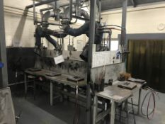 Nederman Electrostic Welding Fume Extraction Arms/Unit
