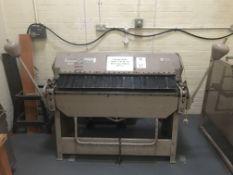 Ewards Truefold 600 Metal Folder