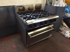 Stainless Steel Blue Seal Cooker