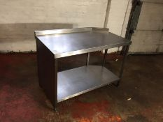 Stainless Steel Work Counter