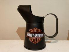 Small Harley Davidson Motorcycles Oil Jug