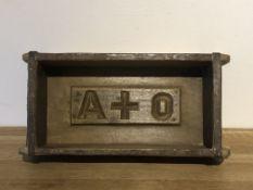 Wooden Brick Mould - A&O