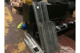 Stainless steel racking x2