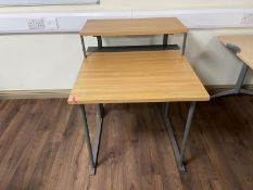 Single 2 Tier Pedestal Desk