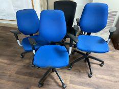 Mixed Lot of Swivel Chairs