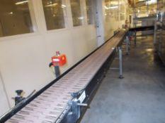 Slatted conveyor