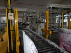 Robotic palletising cell