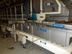 KMG sizing vibrating conveyor x 2