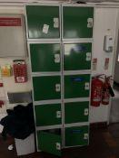 Lockers 10 x small