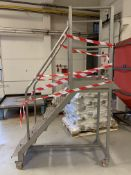 Moveable Staircase on castors