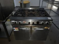 Falcon Dominator 6 hob burner