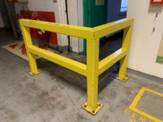 Steel Impact Protection Guard Rail