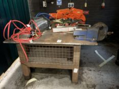 Industrial Welding table and vice
