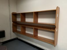Mid century shelves