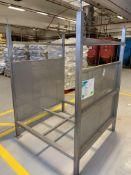 Stainless steel sack holder