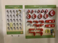 M & E Lockout station boards