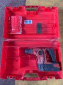 Hilti TE6-A36 36V Cordless Drill