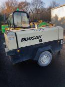 Doosan 260 CFM Compressor 2013
