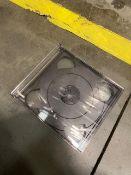 Pallet of XL Black CD Cases