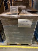 Pallet of Clear DVD Cases