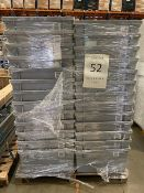 Pallet of 52 Grey Totes
