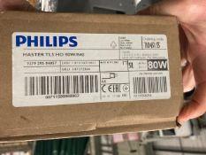 Box of Philips Flourescent Tube Lights