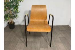Beaded Handle Chair x2