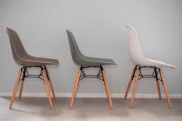Chairs Moss Grey x4