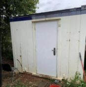 10ft changing room office cabin container