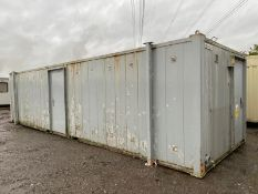 32ft 6 + 1 male and female toilet block
